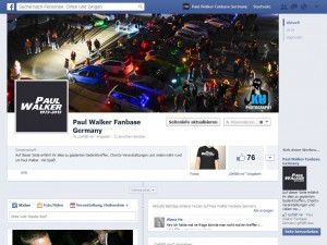 Paul Walker Fanbase Germany Facebook Fanpage